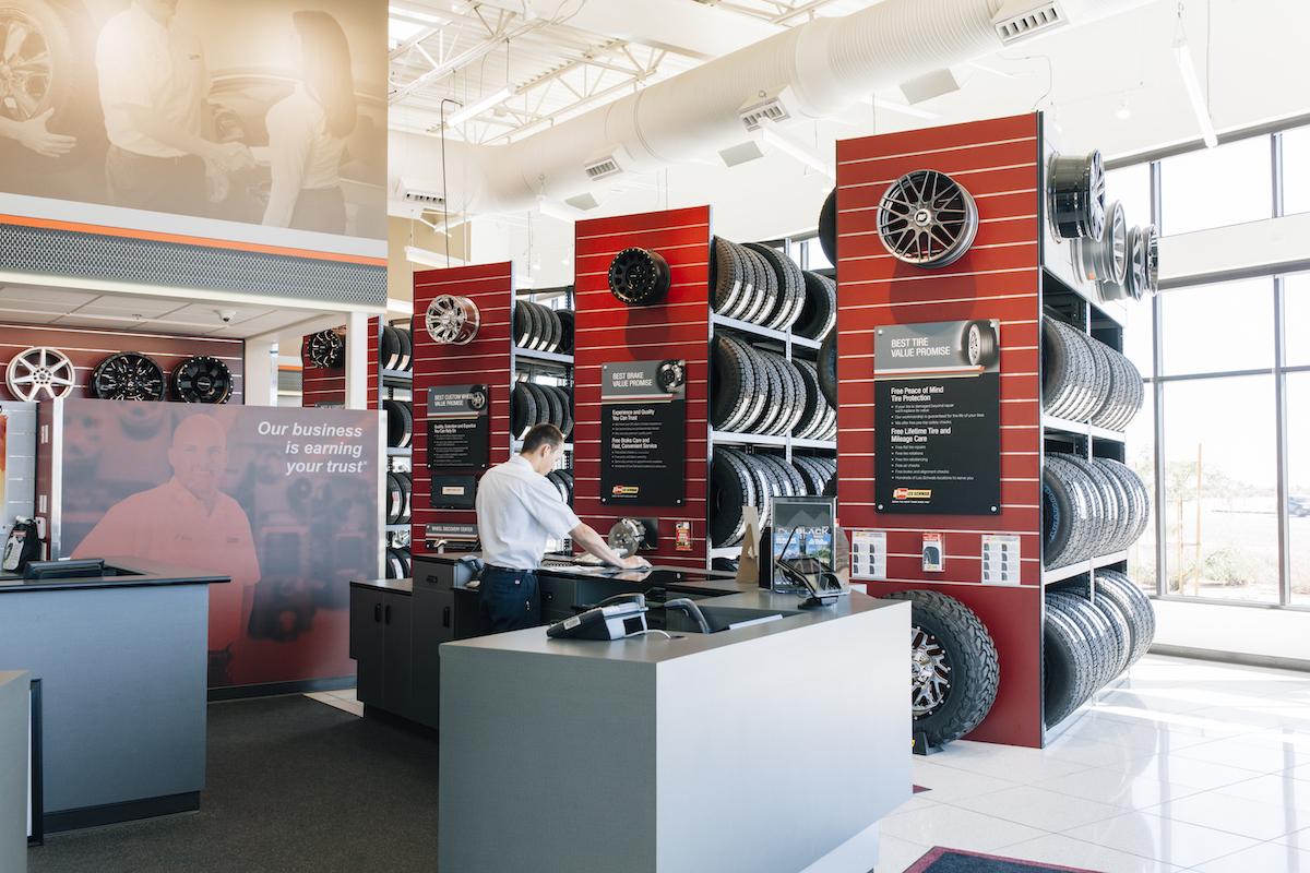 Les Schwabn Tires Hesperia Ca Fulcrum Construction